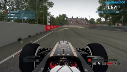 F1 2013 - Canadian Grand Prix Gameplay