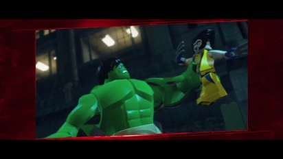 Lego Marvel Super Heroes: Universe in Peril - Trailer