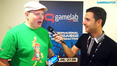 Supernauts - gameplay demo and Markus Pasula Gamelab 2014 Interview