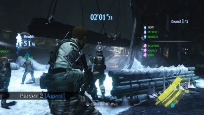 Resident Evil 6 - Siege Gameplay Trailer
