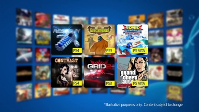Playstation Plus - Your December Instant Game Collection