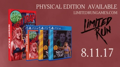 Night Trap - 25th Anniversary Edition | Release Date Announcement