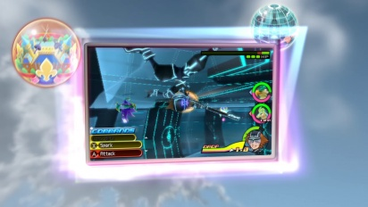 Kingdom Hearts 3D: Dream Drop Distance - New Worlds Trailer