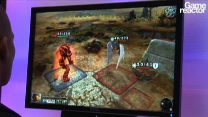 E3 10: Magic The Gathering: Tactics gameplay