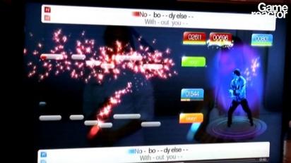 E3 10: Sing Star Dance gameplay