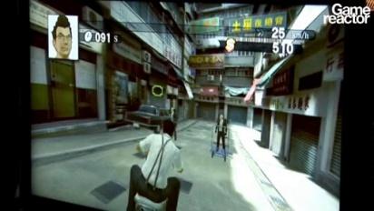 E3 10: Kung Fu Rider gameplay
