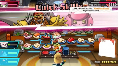 Sushi Striker: The Way of Sushido - Demo Trailer