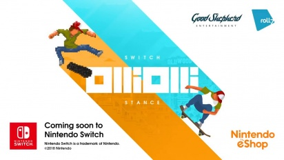 OlliOlli: Switch Stance - Announcement Trailer