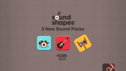 Sound Shapes - DLC Pack 1 Trailer