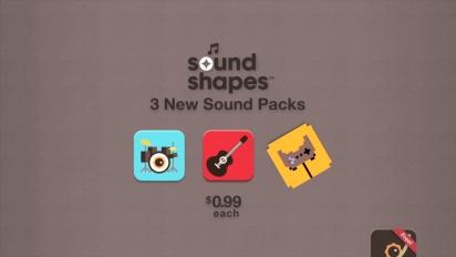 Sound Shapes - DLC Pack 1 Trailer