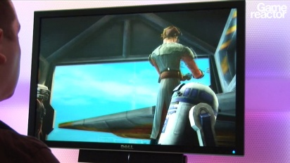 E3 10: Star Wars: The Clone Wars Adventures gameplay