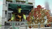 Knack - Wrecking Machine Gameplay Trailer