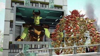 Knack - Wrecking Machine Gameplay Trailer