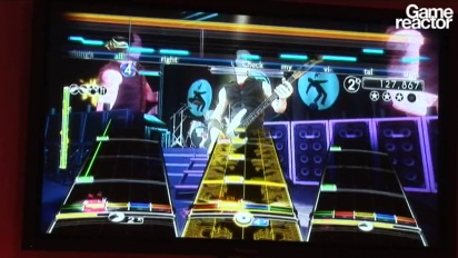 E3 10: Green Day: Rock Band gameplay
