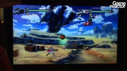 E3 10: Hard Corps: Uprising gameplay