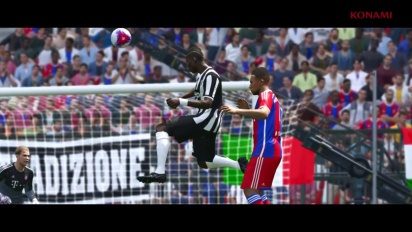 PES 2015 - First official trailer