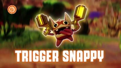 Skylanders Trap Team - Power Play: Trigger Snappy Trailer
