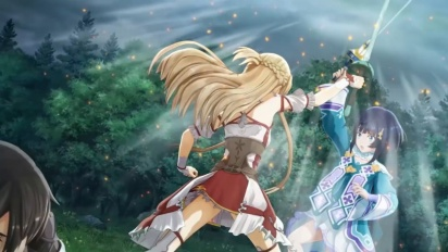 Sword Art Online: Hollow Realization - Japanese Nintendo Switch Trailer