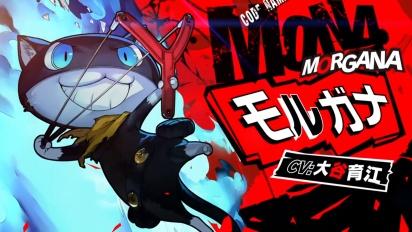 Persona 5 Scramble: The Phantom Strikers - Morgana Character Trailer (Japanese)