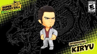 Super Monkey Ball: Banana Mania - Kazuma Kiryu Character Trailer