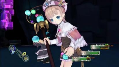 Atelier Rorona - Battle Gameplay
