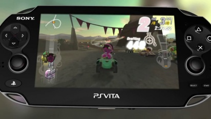 ModNation Racers: Road Trip - Creative Features Trailer