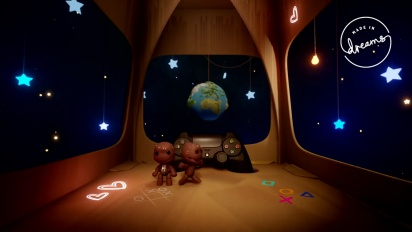 Dreams - LittleBigPlanet Level Gameplay