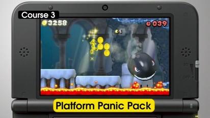 New Super Mario Bros. 2 - Coin Challenge & Platform Pack Trailer