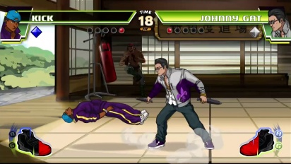 Divekick - Johnny Gat Joins the Addition Edition Trailer