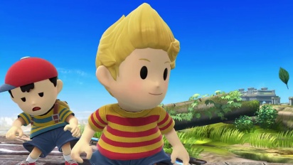 Super Smash Bros. for Wii U & Nintendo 3DS - Lucas Trailer