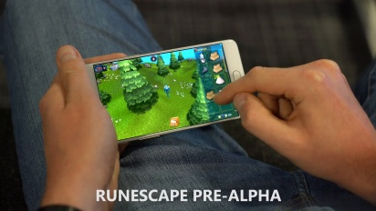 RuneScape on Mobile - Pre-Alpha Gameplay Teaser