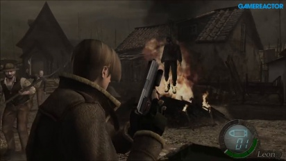 Resident Evil 4 HD - Village Gameplay