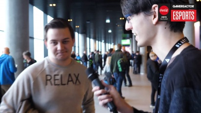 Blast Pro Series Copenhagen - Talking to the Fans