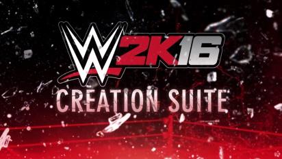 WWE 2K16 Creation Suite Trailer