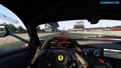Assetto Corsa - PS4 Alpha Gameplay - Ferrari FXX K in Barcelona Circuit de Catalunya