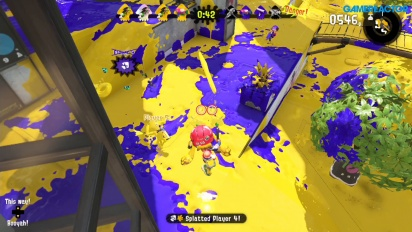 Splatoon 2 - Turf War Yellow Team Gameplay