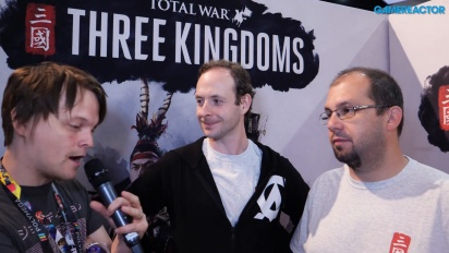 Total War: Three Kingdoms - Janos Gaspar & Simon Mann Interview