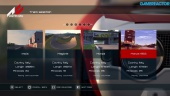 Assetto Corsa - PS4 Alpha Game Menu