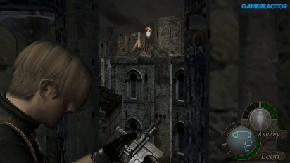 Resident Evil 4 HD - Castle Siege Gameplay
