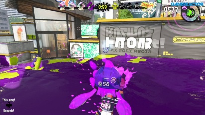 Splatoon 2 - Turf War Purple Team Gameplay