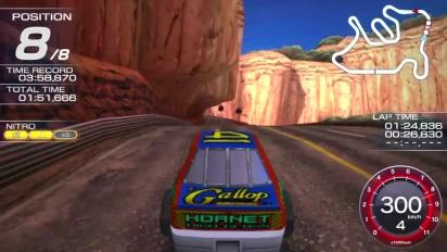 Ridge Racer Vita - Daytona USA's Hornet Car Trailer