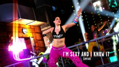 Zumba Fitness Rush - Hip-Hop style Pack Trailer