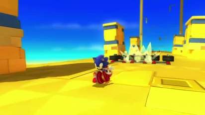 Sonic Lost World - Play Together Wii U Trailer