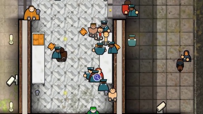 Prison Architect - Console Reveal Trailer