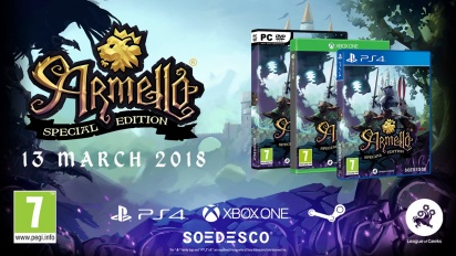 Armello - Announcement Gameplay Trailer PS4 Retail Edition