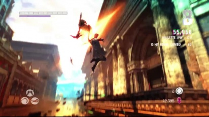 DMC Devil May Cry - Combat Overview #1