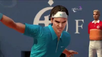 Virtua Tennis 4 - TGS 10: Debut Trailer