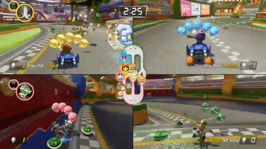 Mario Kart 8 Deluxe Battle Mode Nintendo Treehouse Multiplayer