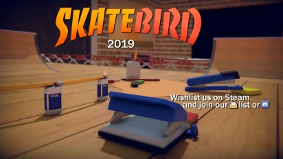 Skatebird - Announcement Trailer