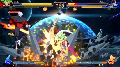 Dragon Ball FighterZ - Official Kefla Gameplay